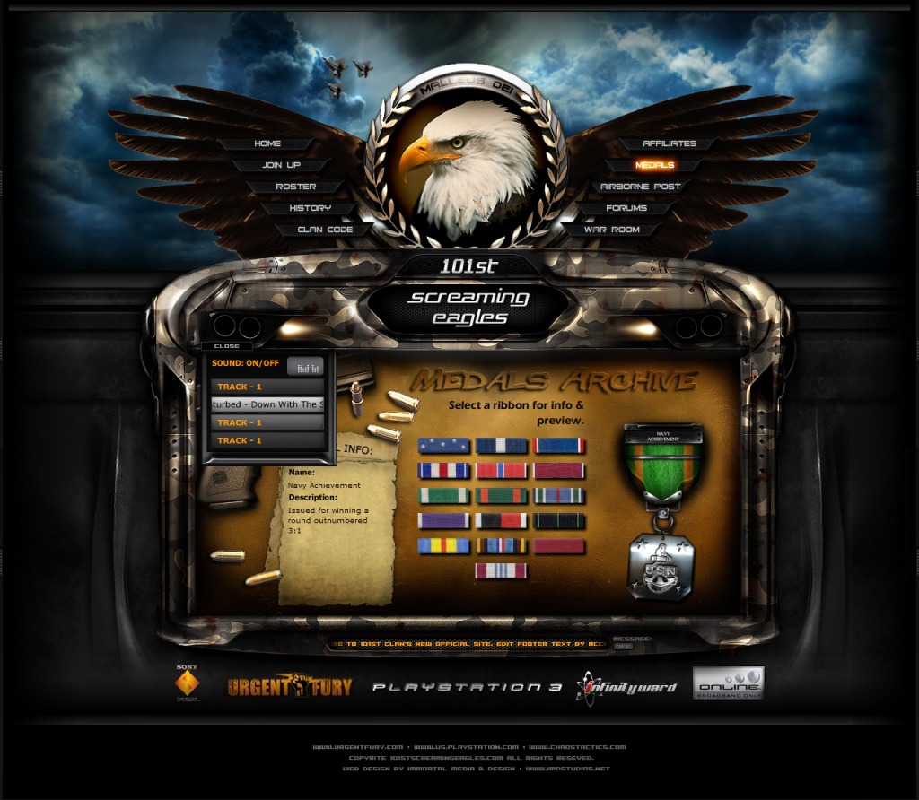 101_Clan_Gaming_Interface_by_ImmoRtalMedia