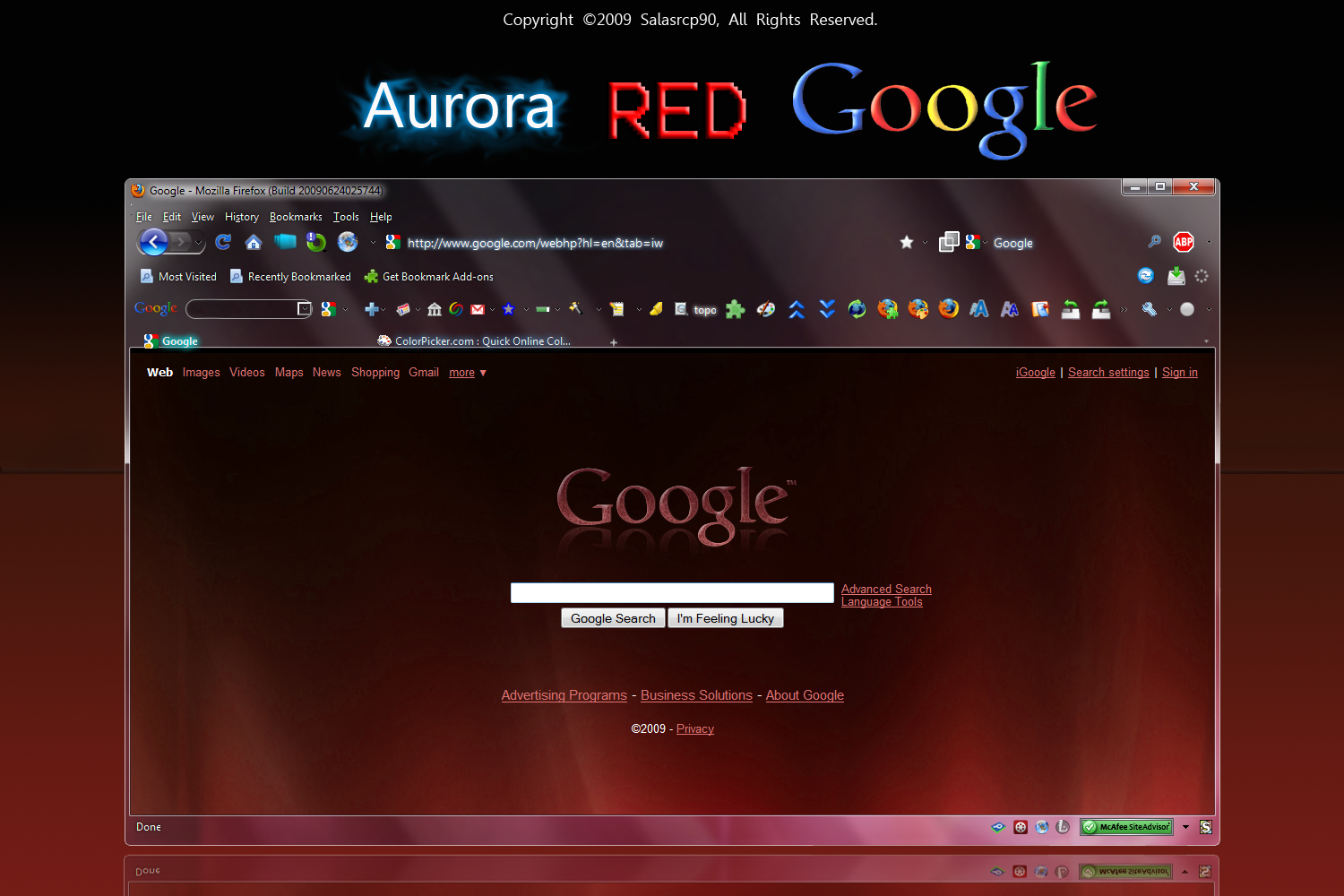 Aurora_RED_Google_by_salasrcp90