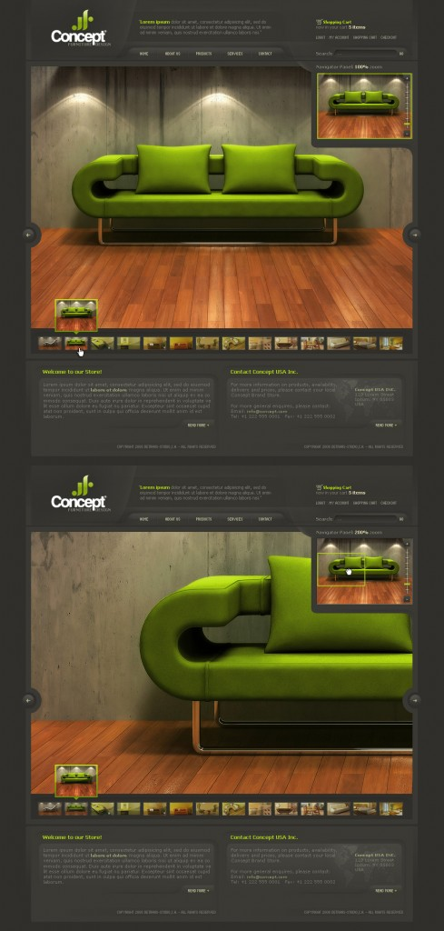 Concept___Web_Layout_by_detrans