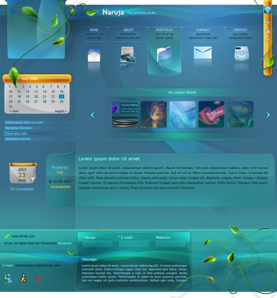 Smooth_Portfolio_Layout_by_JuliusX