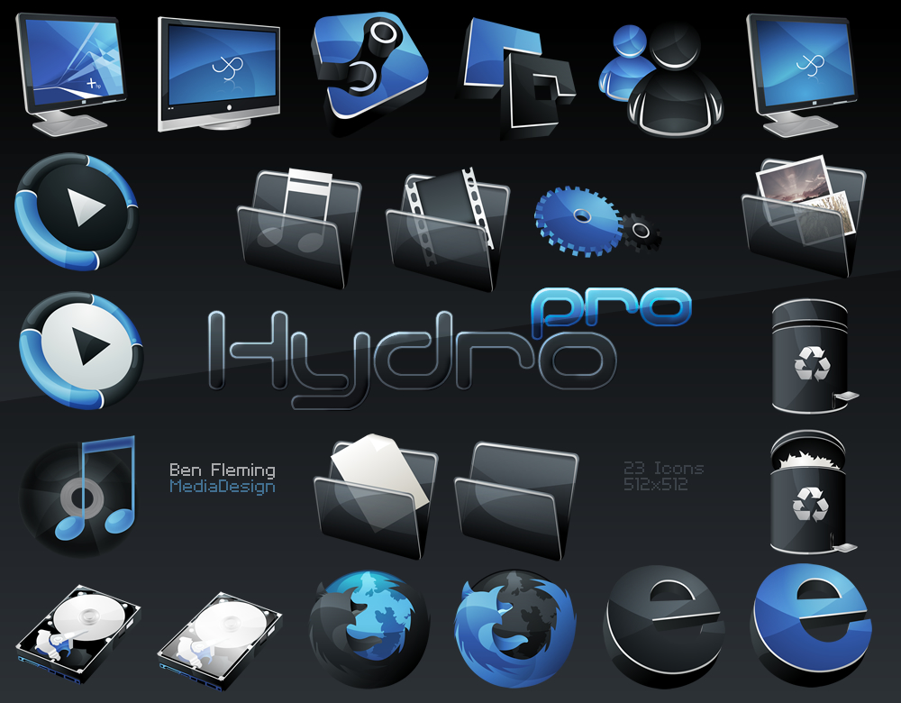 HydroPRO__HP__Dock_Icon_Set_by_MediaDesign