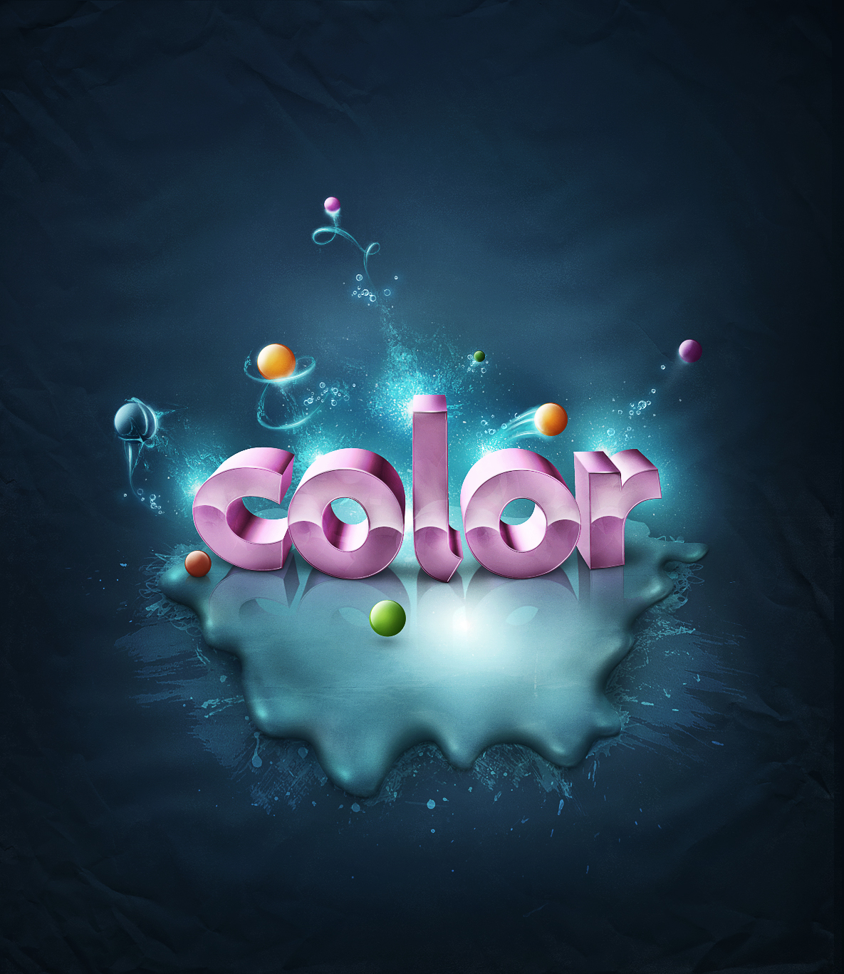 40 Photoshop Tutorials To Create Gorgeous 3D Text Effects