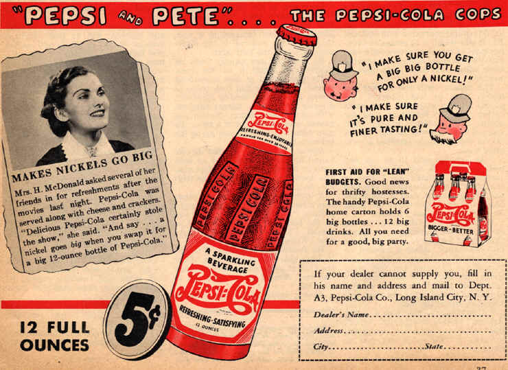 Historical Pepsi Cola Ads Which Will Make You Smile