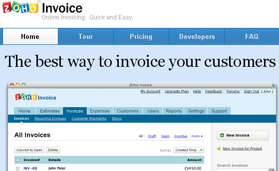 Great Invoicing Tools And Apps For Freelancers Designbeep - Invoice tool