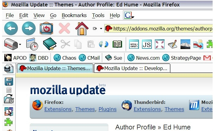 42 Cool and Colorful Firefox Themes(Compatible with 3 6