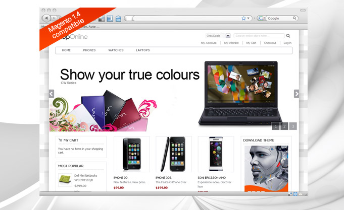 40+ Free Magento Themes For Your Online Shopping Store | Designbeep