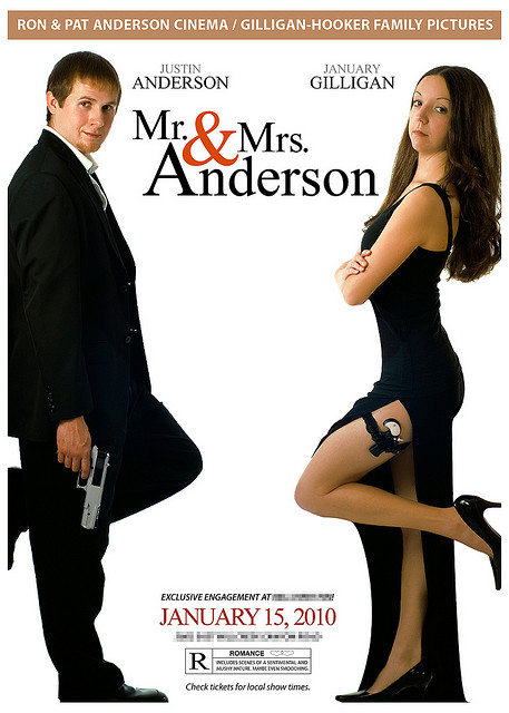 Mr. and Mrs. Anderson