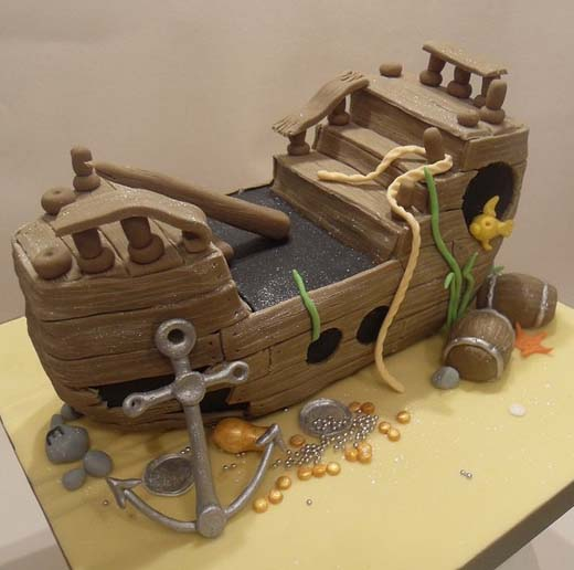 Cake Designs Pirate Ship : 70 Fantastic Cake Designs Which Will Make You Look Twice ...