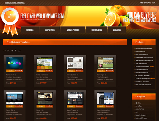 ... Download Free Website Templates and Free Flash Templates | Designbeep