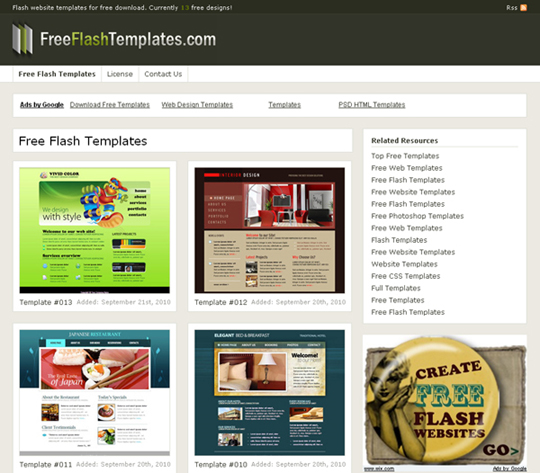20 Places To Download Free Website Templates And Free Flash Templates Designbeep