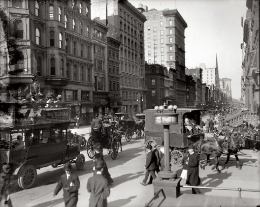 35 High Resolution Photos of USA Cities From 1900's and ...