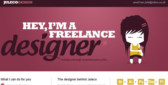 inspirational vector character websites