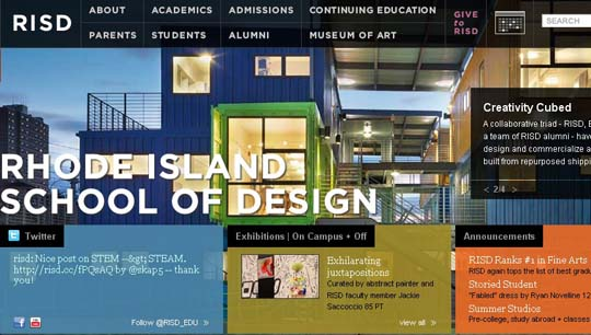 top design and art schools