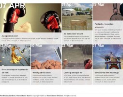 3.grid based wordpress themes