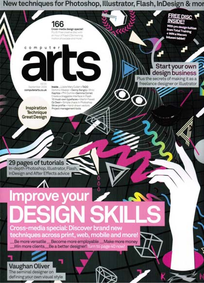Collection of print magazines for graphic designers web for Art decoration magazine