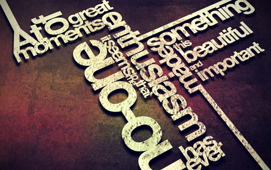 16.typography wallpaper