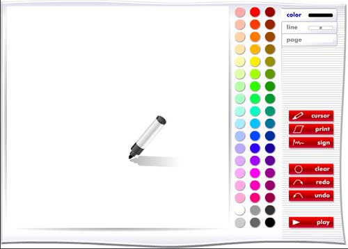 33 free and online tools for drawing painting and Online design tool