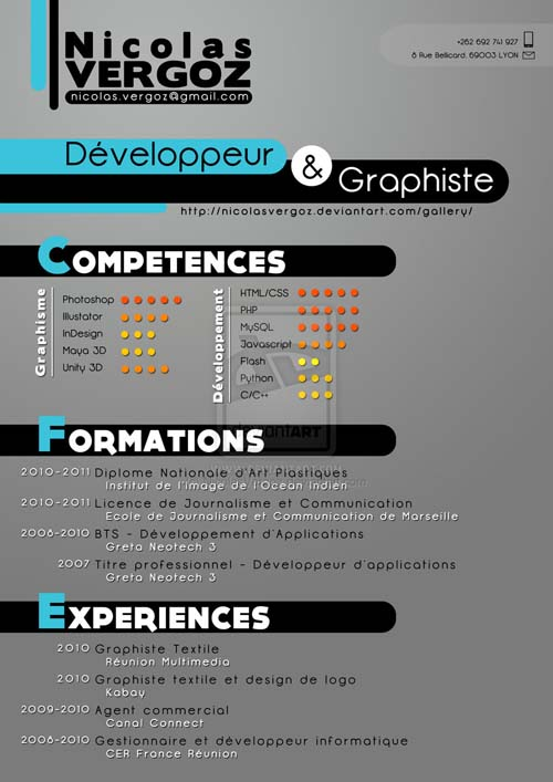 52 Fresh And Really Creative Resume Designs From 2011 Designbeep