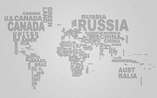 Images of typography world map wallpaper fan 50 outstanding wallpapers for typography lovers designbeep typography world map gumiabroncs Gallery