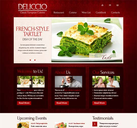 60 modern and professional looking yet free xhtmlcss website free css templates pronofoot35fo Images