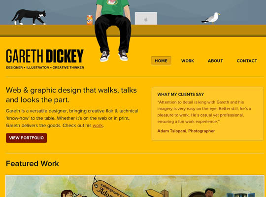 1.inspirational yellow websites