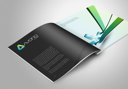 inspirational brochure design