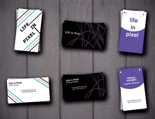 inspirational postcard designs