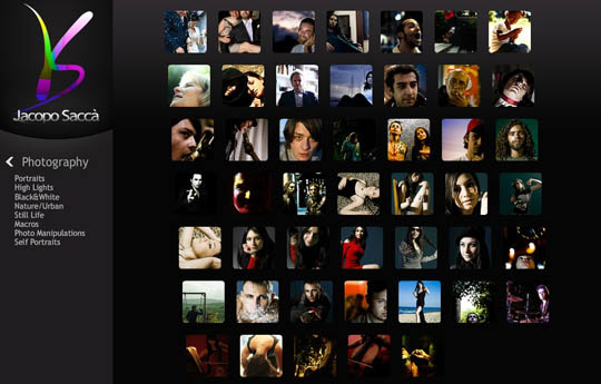 photographers portfolio websites