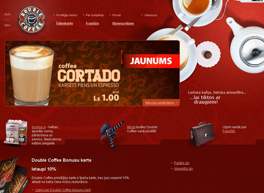 coffee websites