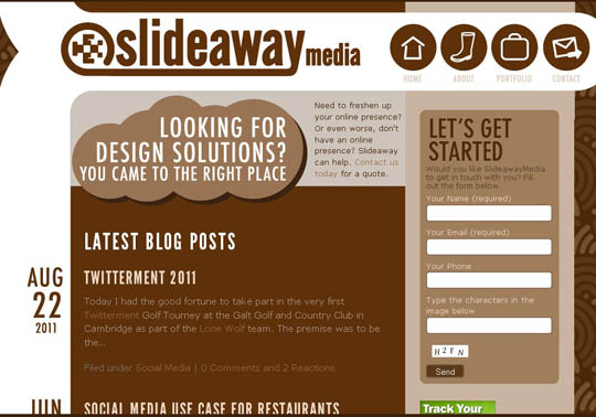brown websites