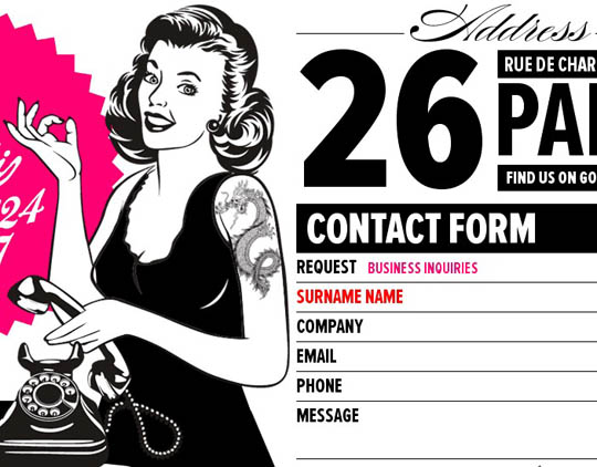 creative contact forms
