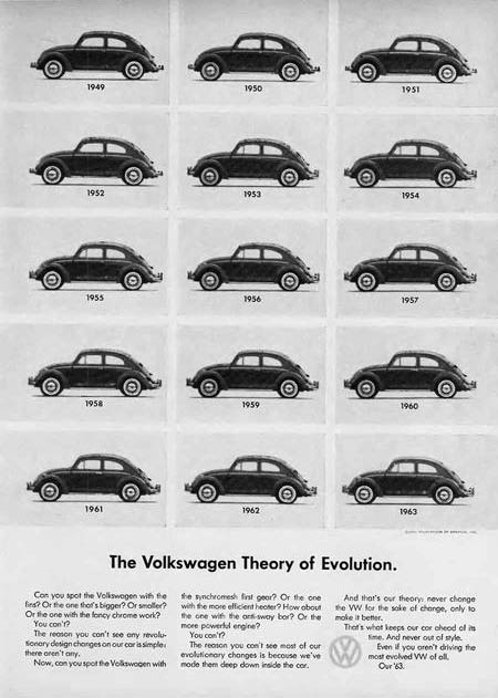 Remembering the Beetle – 30 Volkswagen Ads from the 1960s