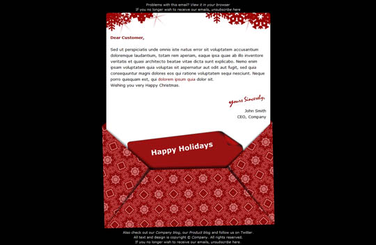 17 beautifully designed christmas email templates for marketing your christmas e mail template maxwellsz