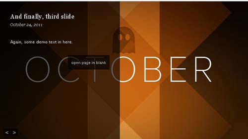 jquery content and image sliders