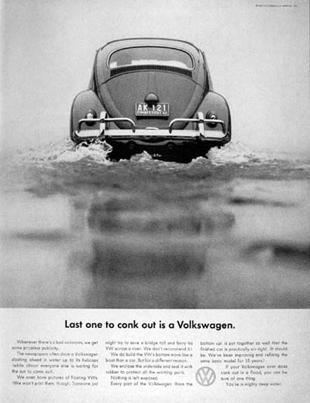Remembering the Beetle – 30 Volkswagen Ads from the 1960s ...