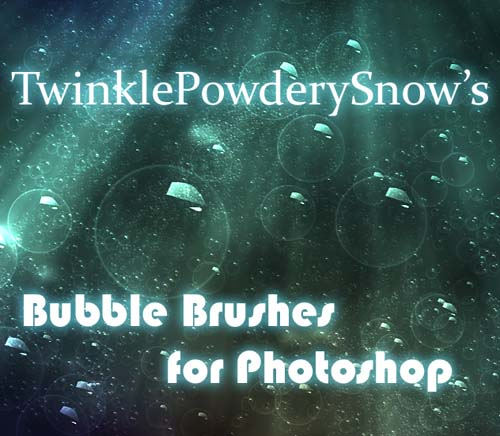 photoshop bubble brushes