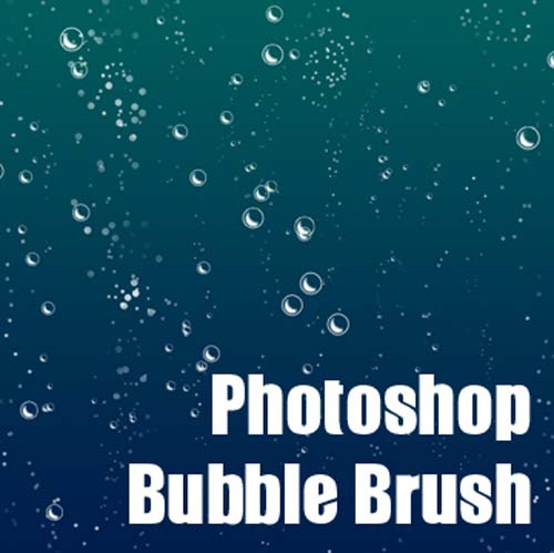 Huge Collection of Free Photoshop Bubble Brushes for