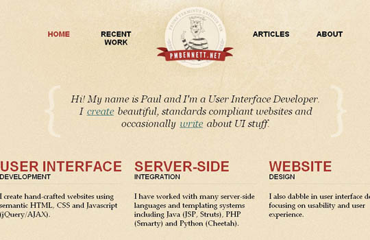 showcase of badges in web design