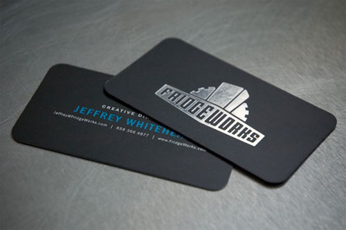 40 Attractive Foil Stamped Business Cards | Designbeep