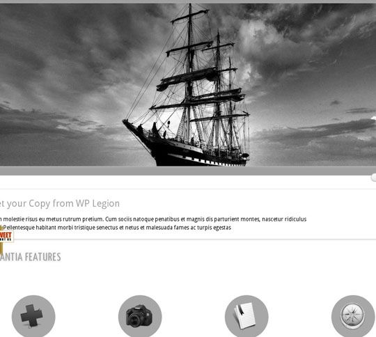 clean minimal wordpress themes 2012