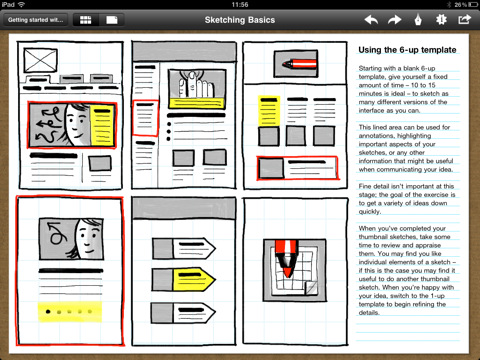 13 Sketching Mockup And Wireframing Ipad Apps For