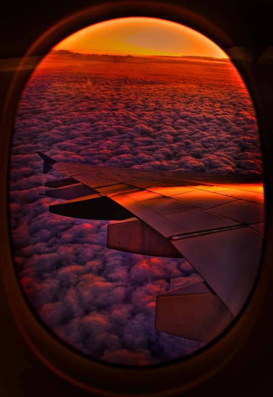 50 Stunning Photos Taken From An Airplane Window