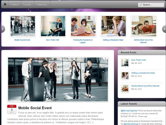free responsive wordpress themes