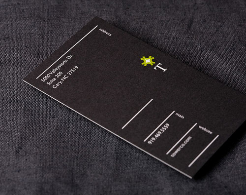 minimalist business cards