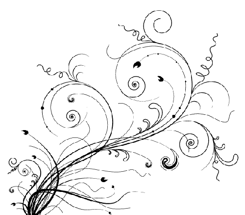 30 Free Swirl Curly And Floral Vectors For Designers Designbeep