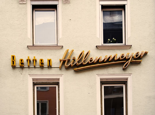 urban typography munich
