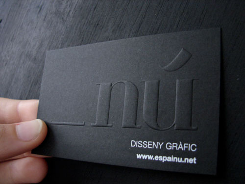62 Cool Examples Big Typography In Business Card Design