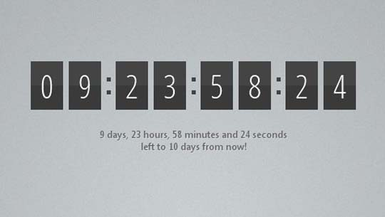 jquery countdown plugins