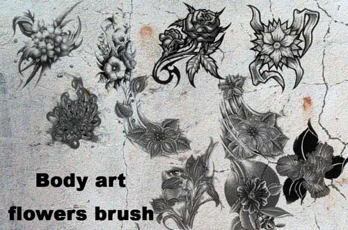 photoshop tattoo brushes