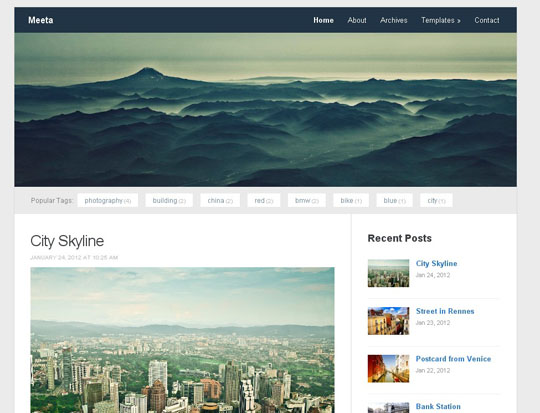 1.free wordpress responsive themes